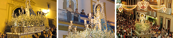 Day of Santa María del Águila (Our Lady of the Eagle). Festivities honouring our Saint Patroness